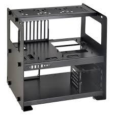 DIYPC AlphaDB6 Black Acrylic ATX Bench Case Bench Computer Case Test Bench Computer