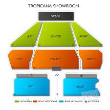Tropicana Casino Seating Chart Bel Canto Studios