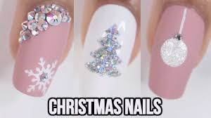 Easy Christmas Designs For Your Nails 5 Easy Christmas Nail Ideas