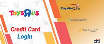 toys r us credit card login procedure