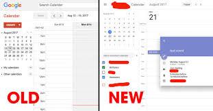 Calnedar Google Is Testing A Gorgeous New User Interface For Calendar