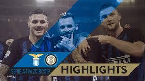 LAZIO 0-3 INTER | HIGHLIGHTS | Nerazzurri dominant in Rome! | Matchday 10  Serie A TIM 2018/19 - YouTube