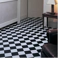 rhinofloor elite tiles pisa black white 5765016 vinyl flooring