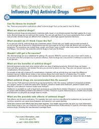 Influenza Antiviral Medications Cdc