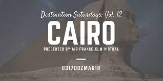 Arrived Af Klm Va Presents Destination Saturdays Vol 12