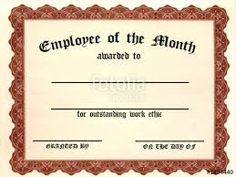 Employee Of The Month Free Online