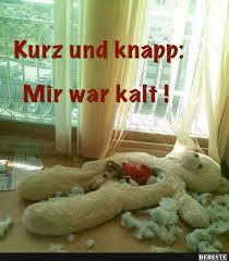 Kurz Und Knapp Mir War Kalt Lustige Bilder Sprüche Witze