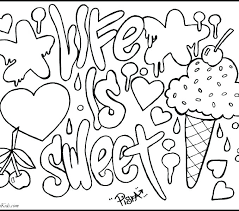 Printable Coloring Pages For Teens Acceptable Free Printable