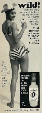 Bikini girls and liquor ads