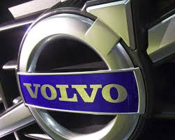 volvo logo. the skf management came up with volvo name. it was simple, and easy to pronounce in most places around world a minimal risk of spelling errors. logo