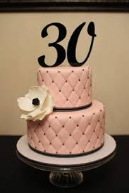 30th Birthday Cake Ideas For A Woman Cake Birthday Cakes For