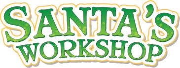 Santa Workshop Logo PNG Clipart | PNG Mart