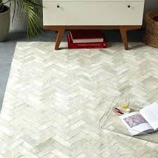 pieced patched cowhide rug chevron patch patchwork rugs australia leather