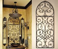iron wall decor u love: tuscan iron wall decor love the tuscan decor bathroom