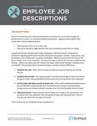 Photo Editor Job Description Photo Editor Job Description Template Employee Descriptions Tool And 14