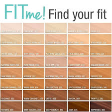 Maybelline Fit Me Foundation Shade Chart 15 Drugstore Foundations That Are Even Better Than High End Ones