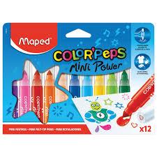 """<b>Фломастеры MAPED</b> (Франция) """"<b>Color</b>'peps Jumbo Mini"""" 12 ..."""