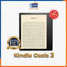 Máy đọc sách Kindle Oasis 3 - năm 2019 (All-new Kindle Oasis - with  adjustable warm light) - Màn hình 7 inch chống chói lóa thân thiện với mắt  thiết kế gọn