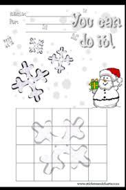 Winter Incentive Charts Christmas Behavior Charts To Print Printable December