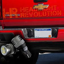 2018 Silverado License Plate Light Bulb 2015 2018 Chevy Colorado License Plate Led Bulbs Upgrade