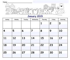 Free Calendar Templates 2015 Shania Design