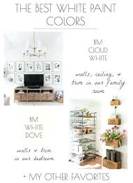 Best White Paint For Bedroom Walls The Best White Paint Colors My Tried  True Favorites Driven . Best White Paint ...
