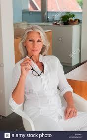 Portrait Of Mature Woman Wearing Bikini   Stock Photos   Royalty     Visualphotos