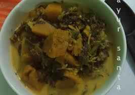 Sayur labu kuning lebih sedap. Langkah Mudah Untuk Membuat Sayur Santan Bunga Pepaya Labu Kuning Pakis Anti Gagal Kreasi Masakan