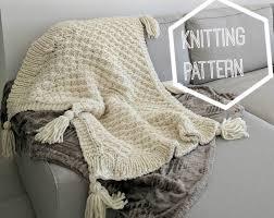 Super Chunky Knit Blanket Pattern