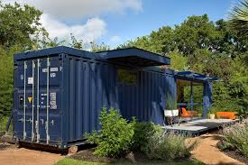 glass home designs. container guest house - back glass home designs o