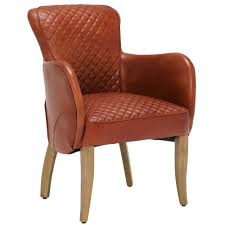 timothy oulton side saddle leather chair