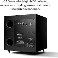 Buy Cambridge Audio SX120 | 70 Watt Active Home Theater Subwoofer with 8  Inch Woofer (Matte Black) Online in Taiwan. B00ELMTX1U