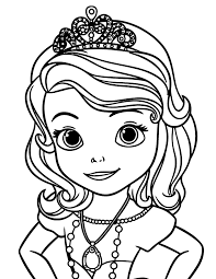 Small Picture Free Printable Sofia The First Coloring Pages coloringkidsorg