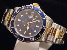men s rolex watches new used vintage mens rolex submariner date 18k yellow gold steel watch blue dial bezel 16613