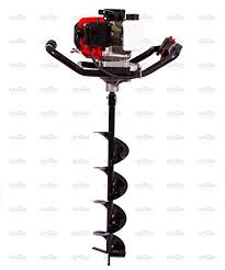 garden auger drill bit. Neptune® Single Person Operated Earth Auger 2 Stroke Engine With 8\u0026quot; Drill Bit Garden