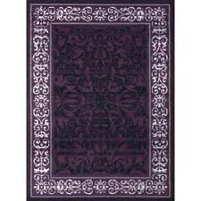 plum rugs baroness plum 8 ft x ft indoor area rug round purple rugs for