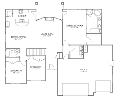Open Floor Plan Open Floor Plans Open Floor Plans Patio Home Plan House