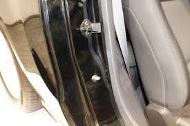 car door latch striker. SEMA 2014: Slam Stop Closes Car Doors Securely, Without Slamming - LSX Magazine Door Latch Striker