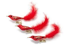 Beste Christbaumschmuck Vögel Rot Online Kaufen