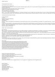 Fantastic Resume Writing Pharmaceutical Industry Contemporary