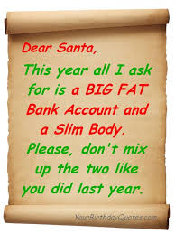 Funny Christmas Quotes Enchanting Funny Christmas List For Santa YourBirthdayQuotes