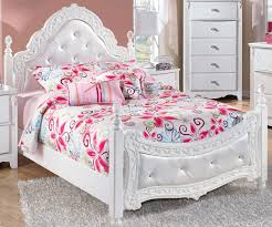 Girls full size bedroom set, white full size bedroom furniture girls ...