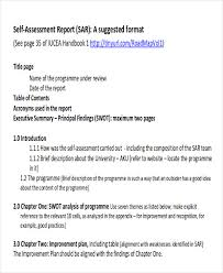 sample report format suggested answer bye writing a report assessment report format sample 8 examples in word pdf