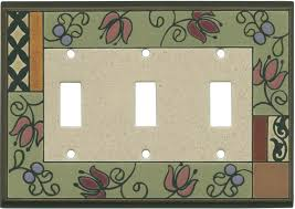 Ceramic Light Covers Floral Tapestry Ceramic Light Switch Plates Outlet Covers