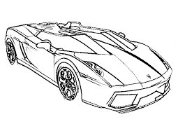 Free Coloring Sheets Of Sports Cars L L