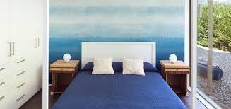 bedroom ombre wallpaper mural