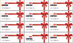 Template For Coupons As Gifts Serpto Carpentersdaughter Co