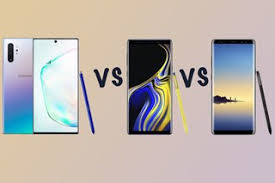 Samsung Note Comparison Chart Samsung Galaxy Note 10 Vs Note 9 Vs Note 8 Should You Upgrade