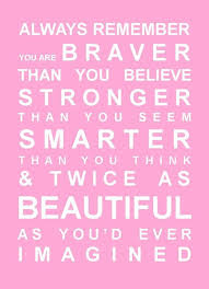 Smart Beauty Quotes Best Of Always Remember You Are Braver Than You Know Vinyl Lettering