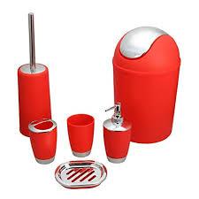 Whole Bathroom Accessories Red Bathroom Accessories Sets Bathroom
